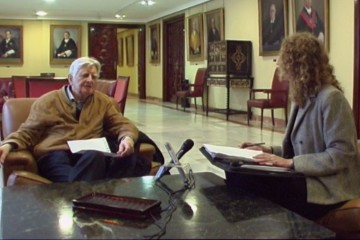 Entrevista Apel, Nicole holzenthal, Jose Bolivar Cimadevilla