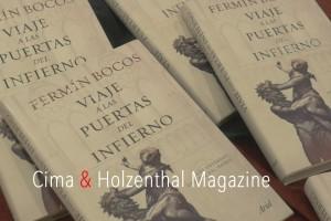 Fermin Bocos- Viaje a las puertas del infierno portada Jose Bolivar Cimadevilla Cima & Holzenthal
