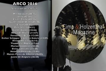 ARCO 2016 A Cima & Holzenthal Jose Bolivar Cimadevilla