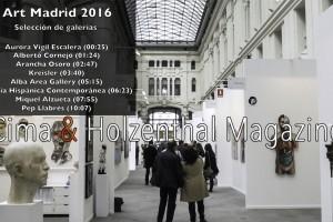 Art Madrid 2016 Cima & Holzenthal Jose Bolivar Cimadevilla Cima