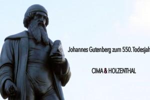 C&H Gutenberg Jose Bolivar Cimadevilla Cima Holzenthal