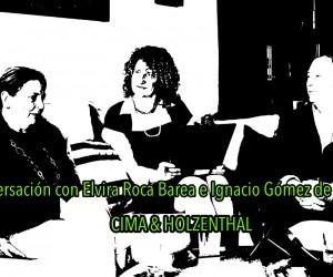 C&H Conversación con Elvira Roca Barea e Ignacio Gómez de Liaño, Nicole Holzenthal, Cima Holzenthal, Jose Bolivar Cimadevilla,